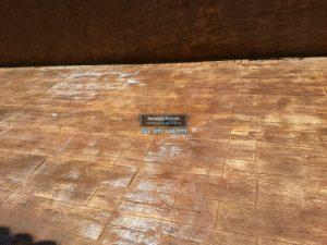 Suelo de Hormigón Impreso Hoyo de Manzanares