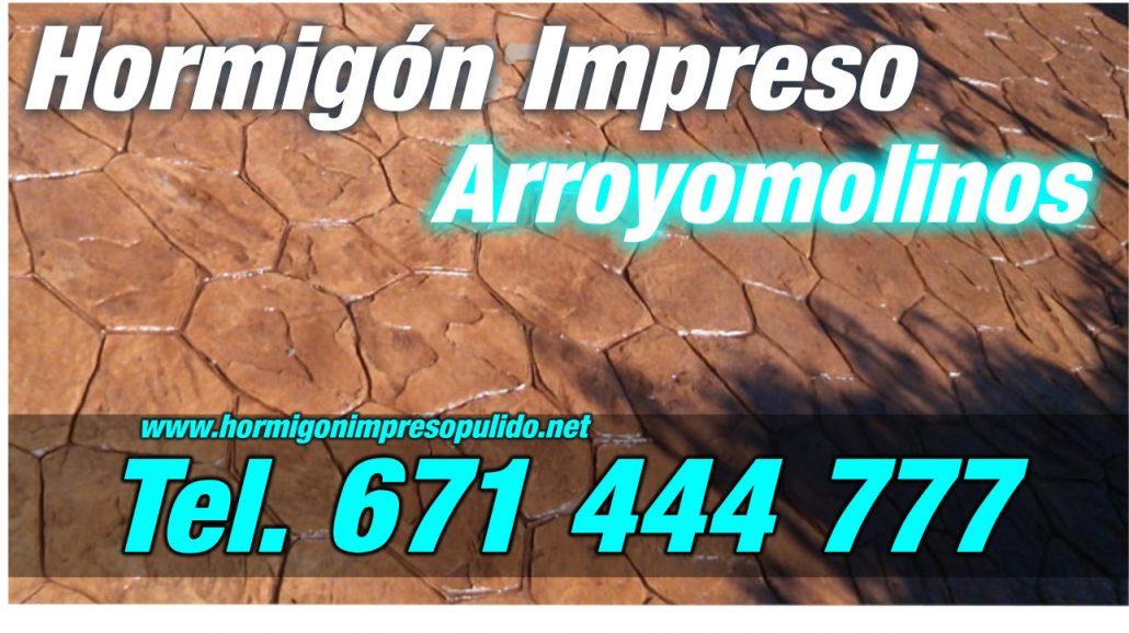 Hormigón Impreso Arroyomolinos