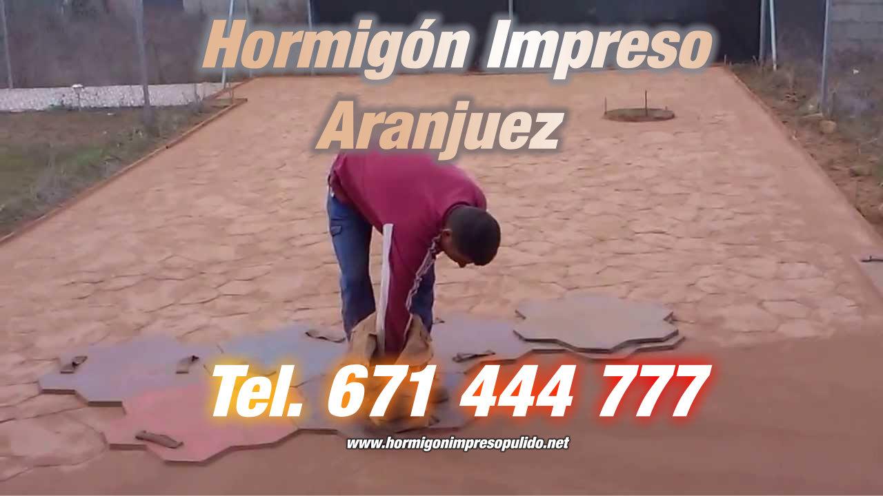 Hormigón Impreso Aranjuez