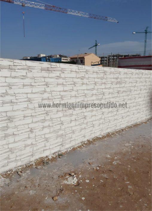 Muro de Hormigón Impreso