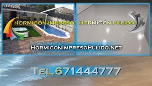 Empresa de Hormigón Impreso y Pulido en Madrid